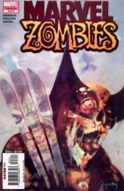 Marvel Zombies #3 First Print Wolverine comic book